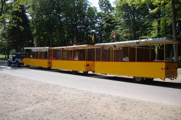 the put in bay tour train
